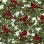 Christmas Morning, w/Metallic, Ivory Cardinals