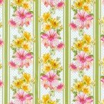 Garden Splendor, Ivy Floral Stripe