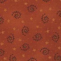 H.G., Autumn Song, Sawtooth Swirls, Red