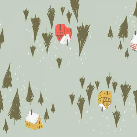 Rae Ritchie, Winter Cabin Flannel, Cameo