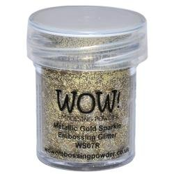 Wow- Met Gold Sparkle glit