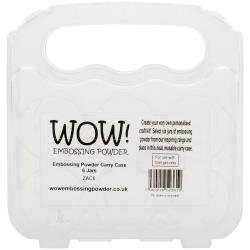 WOW! Embossing Powder Storage Case - Empty Holds 6