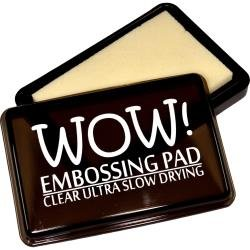 Wow! Slow Drying Ink Pad Clear Ultra Embossing Pad