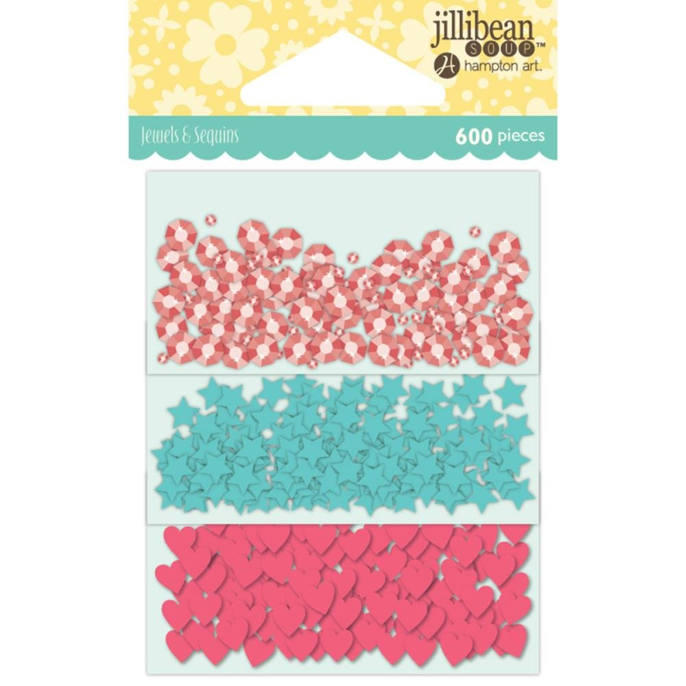 JILLIBEAN SOUP Shaker Sequins-BIRTHDAY