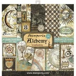 Stamperia Double-Sided Paper Pad 12X12 10/Pkg- Alchemy