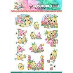 Find It Trading Yvonne Creations Punchout Tropical Fruits