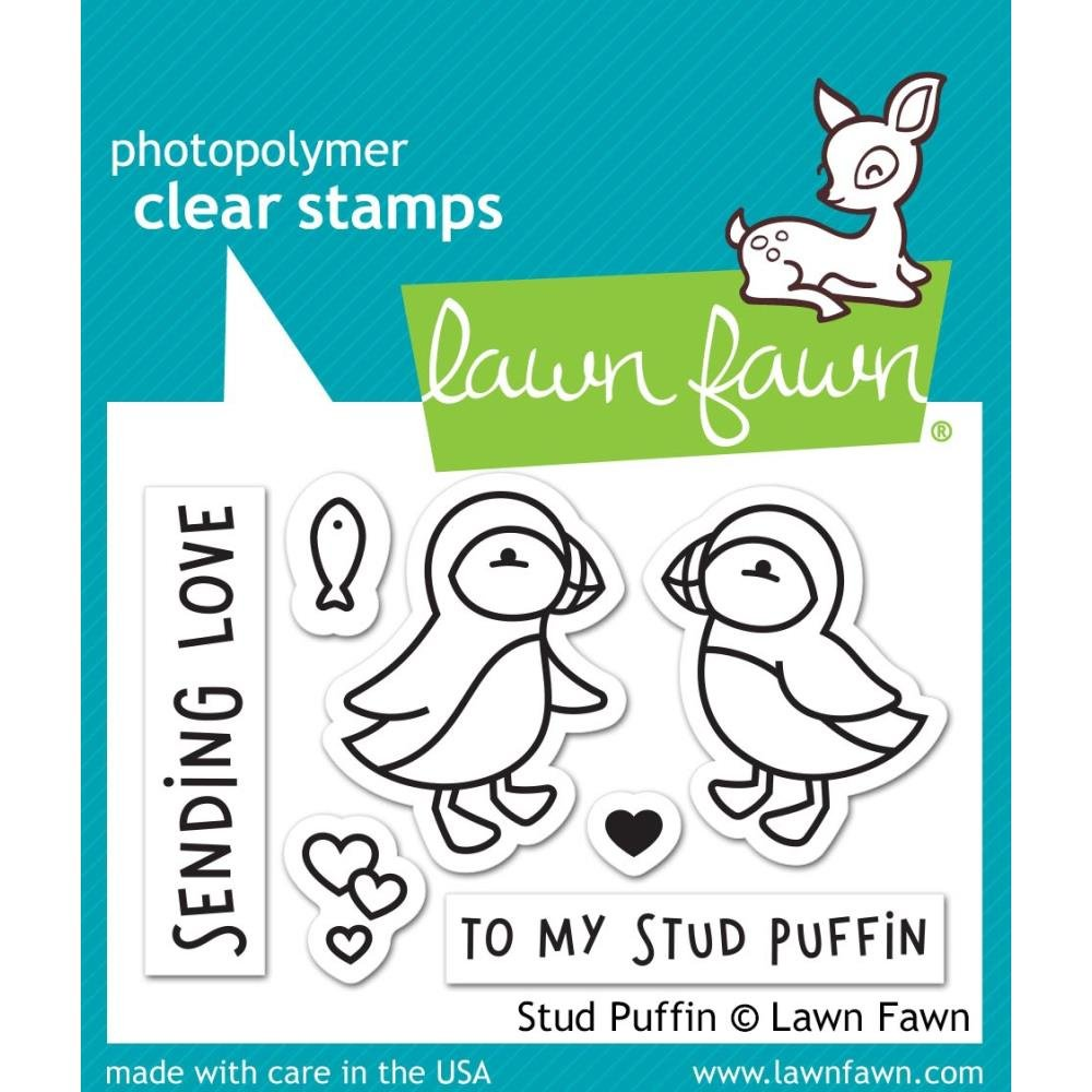 Lawn Fawn Clear Stamps 3X2-Stud Puffin