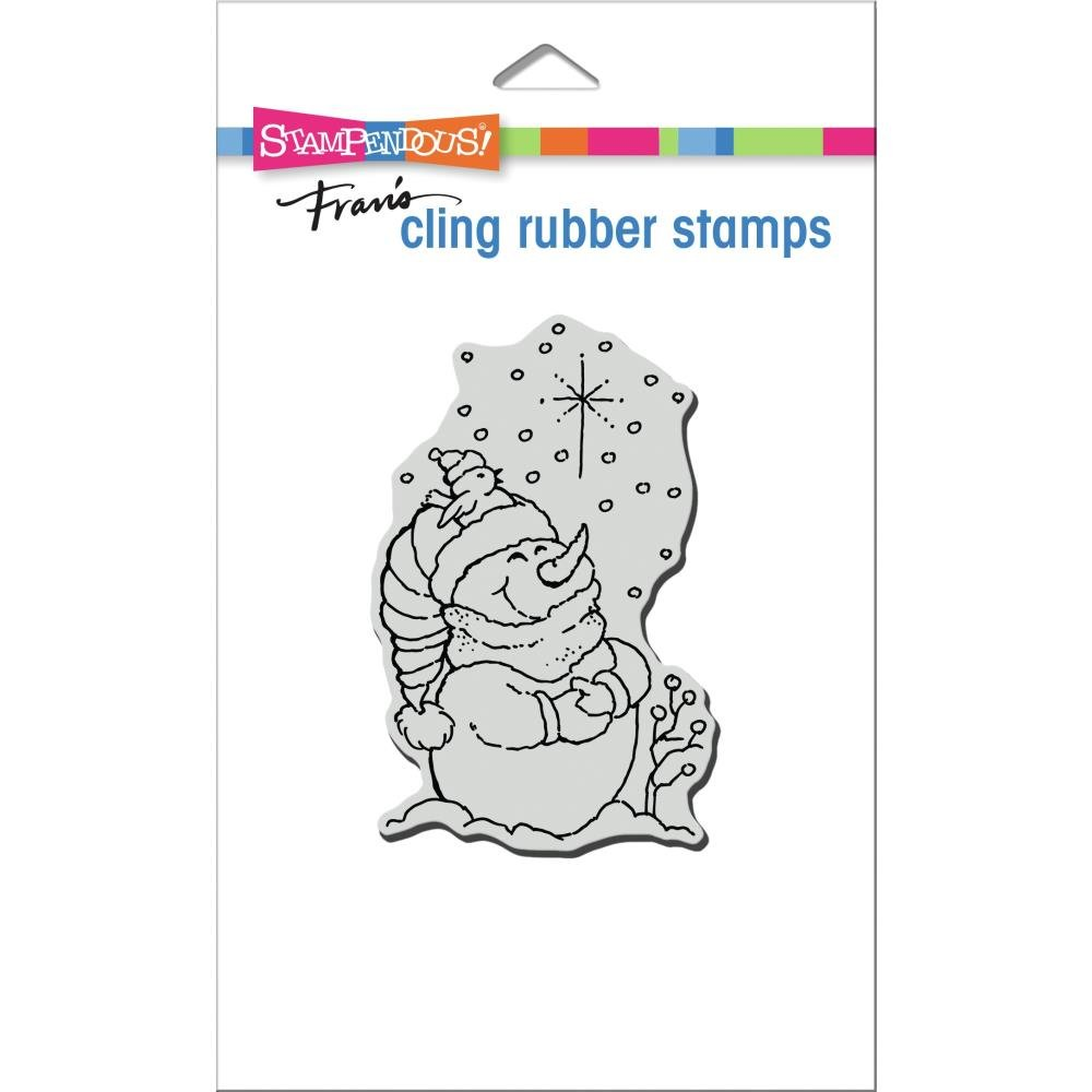 Stampendous Cling Stamp-Starlight Pals