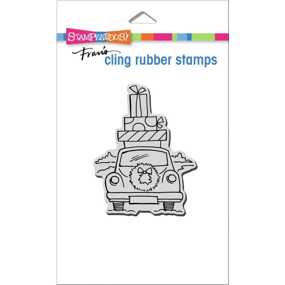 Stampendous Cling Stamp-Holiday Haul