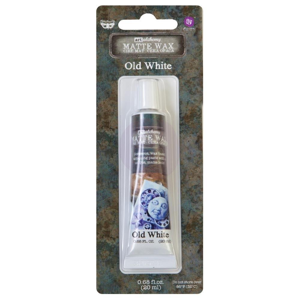 Finnabair Art Alchemy Matte Wax .68 Fluid Ounce-Old White