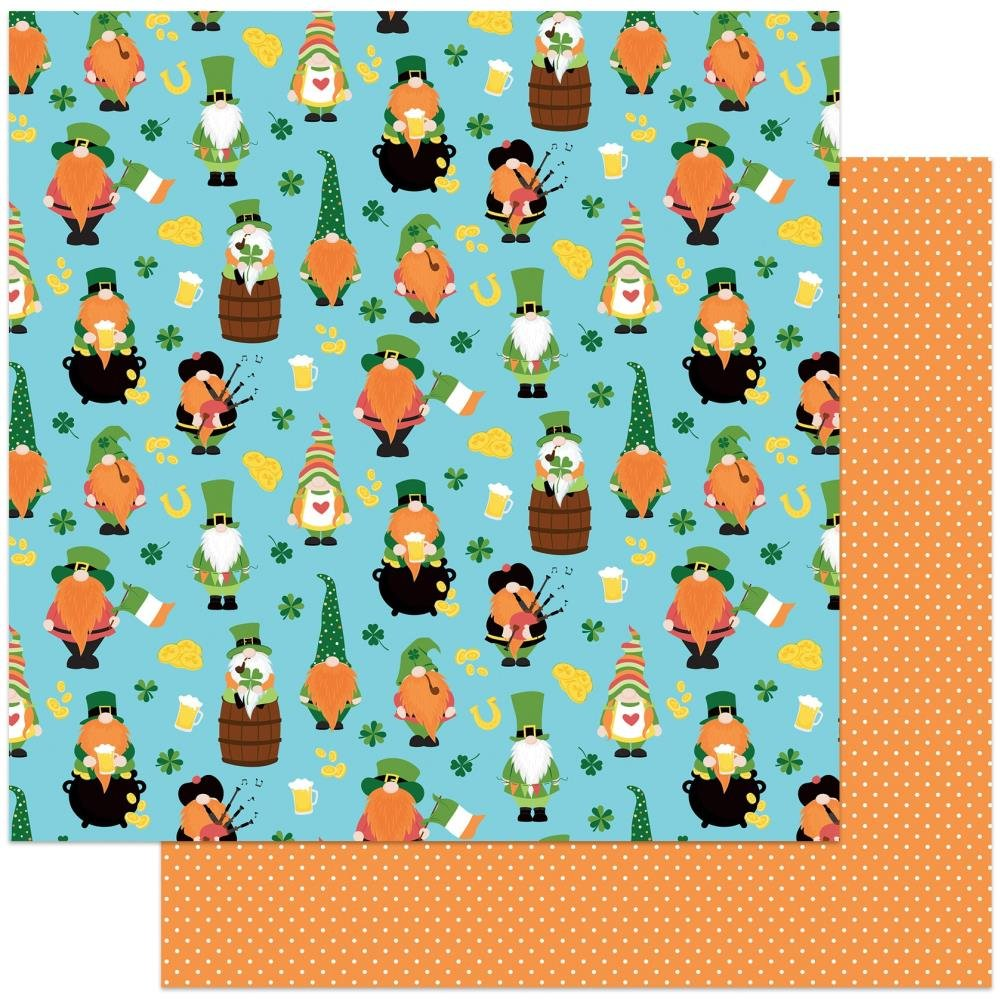 Kiss Me -Tulla & Norbert's Lucky Charm Double-Sided Cardstock 12X12