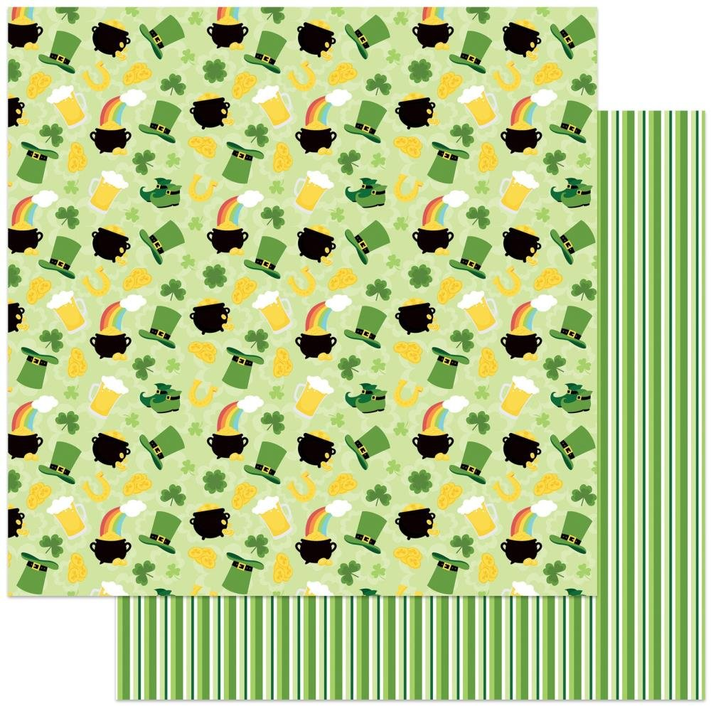 Lucky Charm -Tulla & Norbert's Lucky Charm Double-Sided Cardstock 12X12