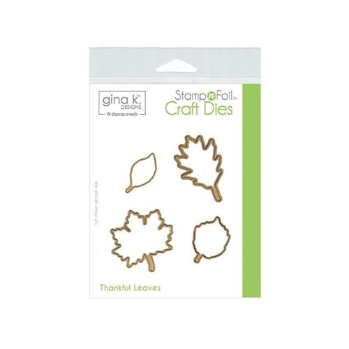 Thankful Leaves - Gina K Designs Dies