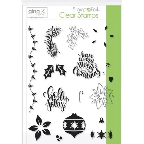 Holly Jolly- Gina K Designs Stamp Set