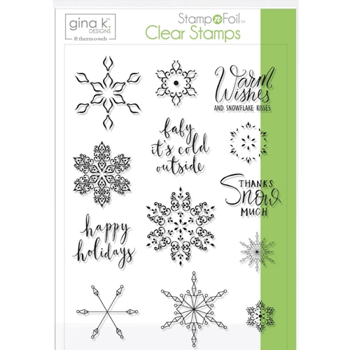 Baby It's Cold Outside - Gina K Designs Stamp Set