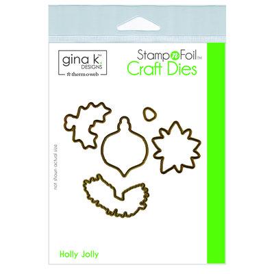 Holly Jolly - Gina K Designs Dies