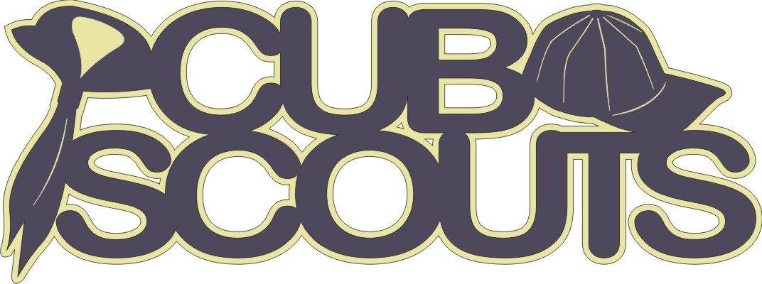 Die Cut Title- Cub Scouts
