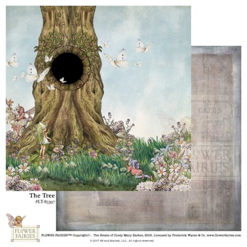 49 and Market Paper- Flower Fairies Looking Through: The Tree