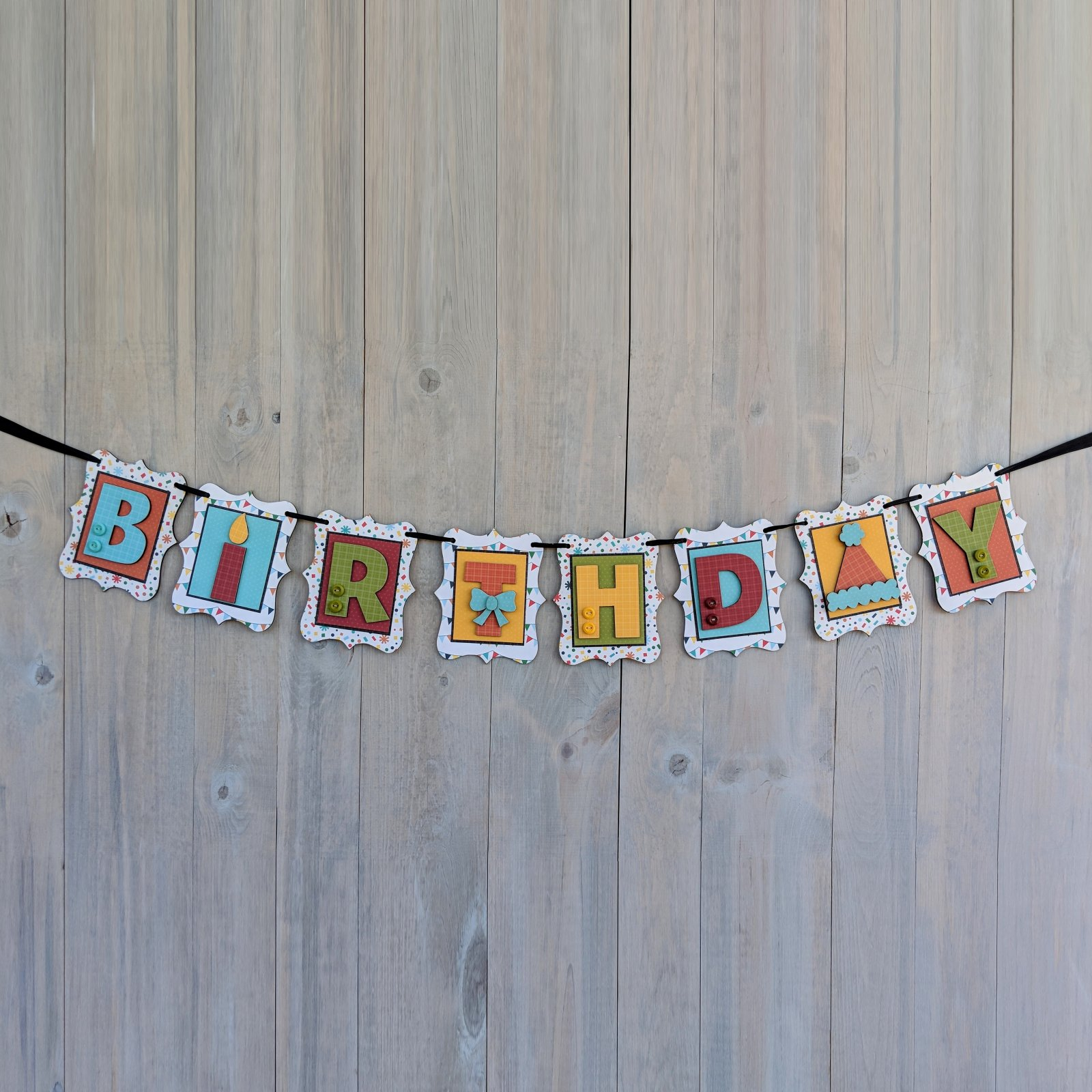 Birthday Banner kit- Birthday