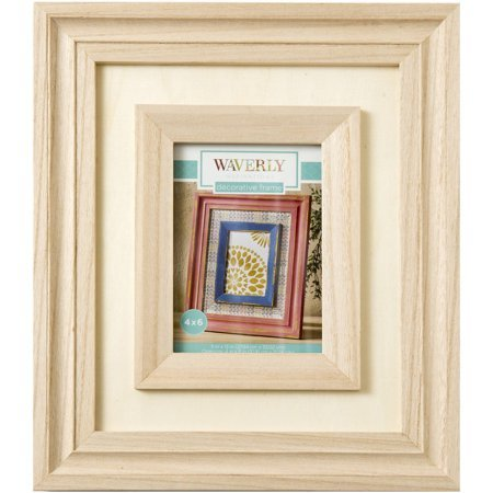 Waverly Inspirations Decorative Wood Picture Frame