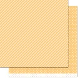 Lawn Fawn- Let's Polka, Mon Amie- Double-Sided Cardstock 12X12 Lemon Line Dance