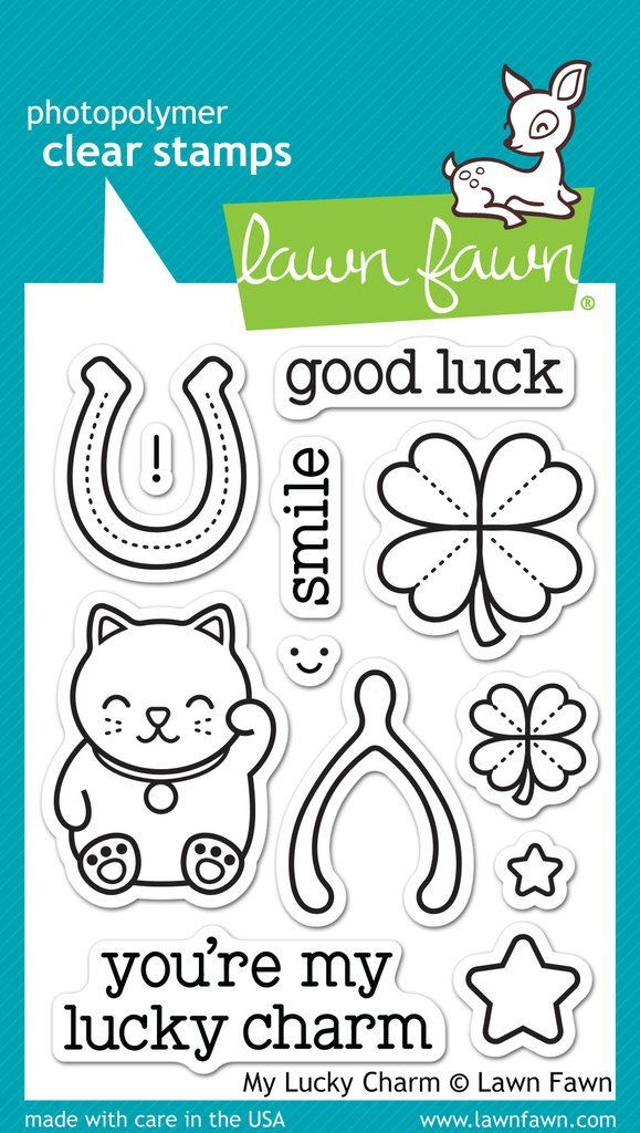 Lawn Fawn My Lucky Charm Stamps