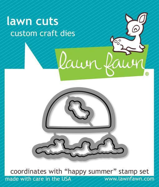 Lawn Fawn Die- Happy Summer