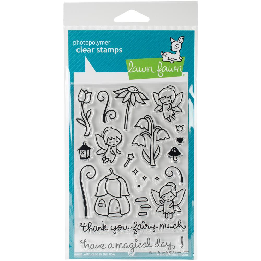 Fairy Friends Lawn Fawn Clear Stamps 4X6
