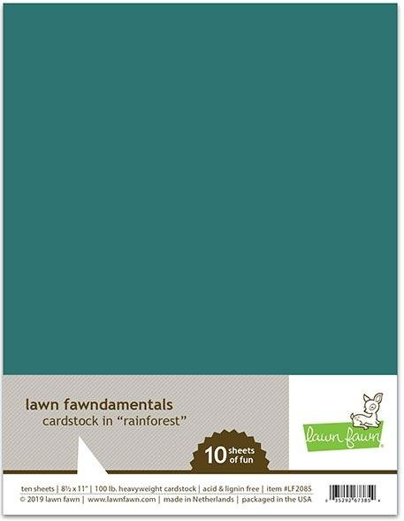 Rainforest Cardstock - Lawn Fawn