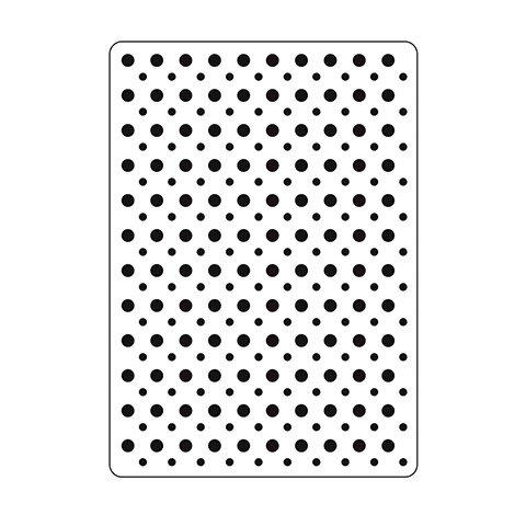 Embossing Folder 4.25X5.75- Polka Dot