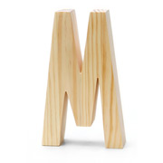 Chunky Wood Letter 8-M