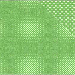 Dots & Stipes- Limeade