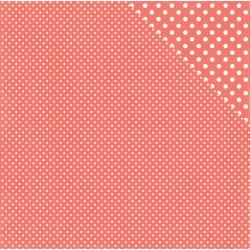 Dots & Stipes- strawberry