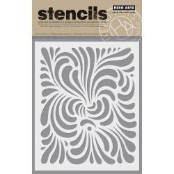 Hero Arts Stencil 6.25X5.25-Swirl