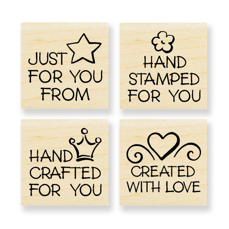 Stampendous Wood Stamp - Handmade Everyday Cube