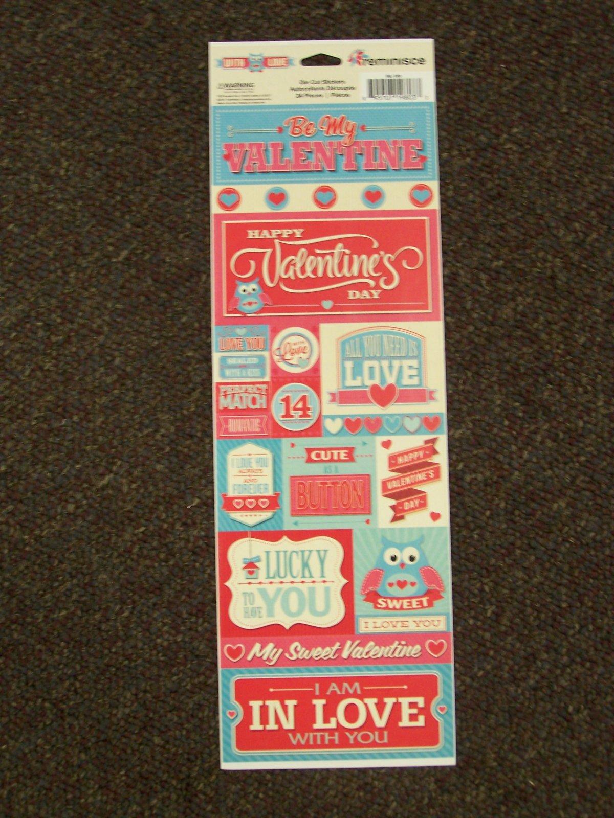 Reminisce Sticker- With Love