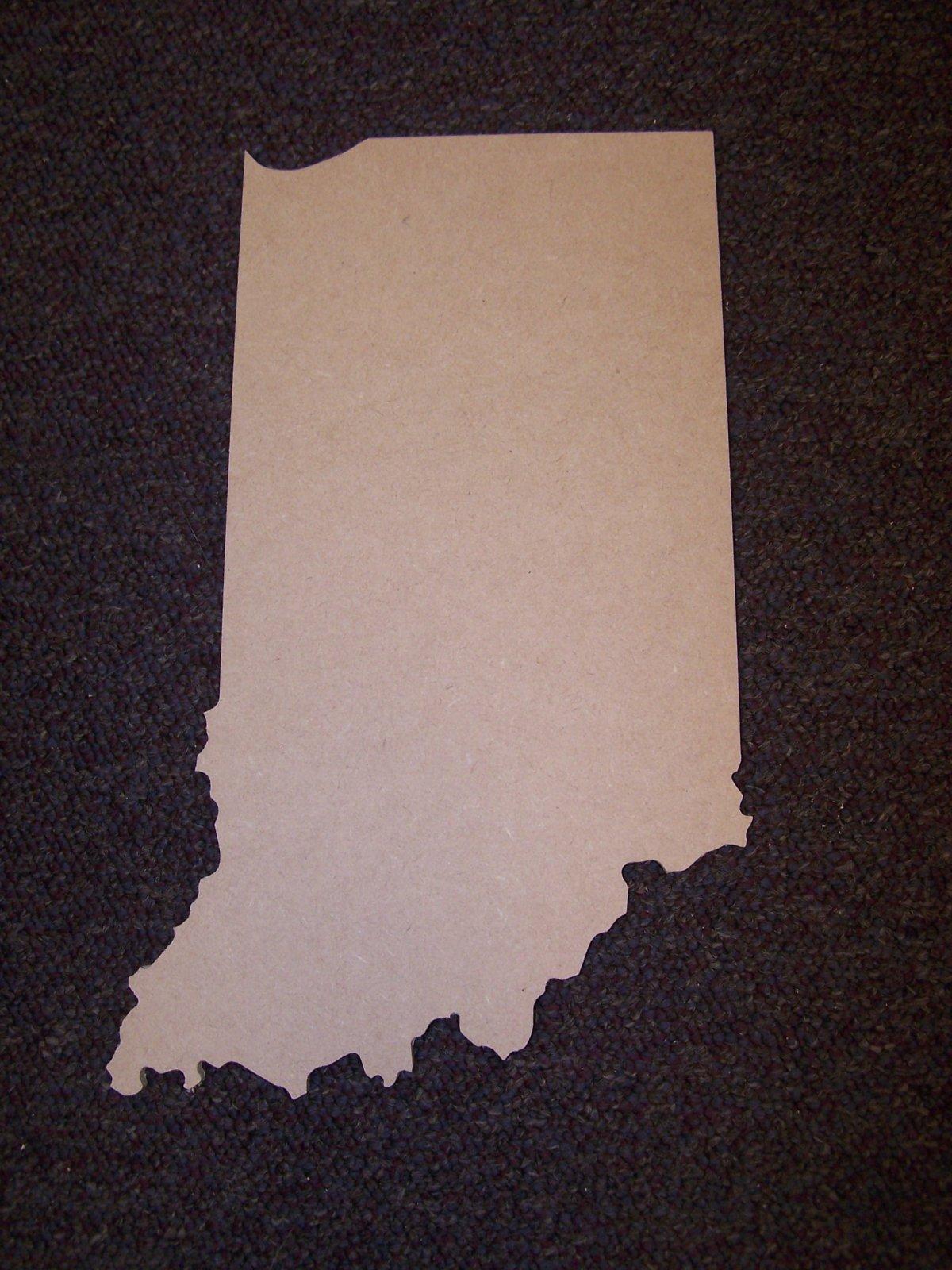 Indiana Sign- 12 MDF