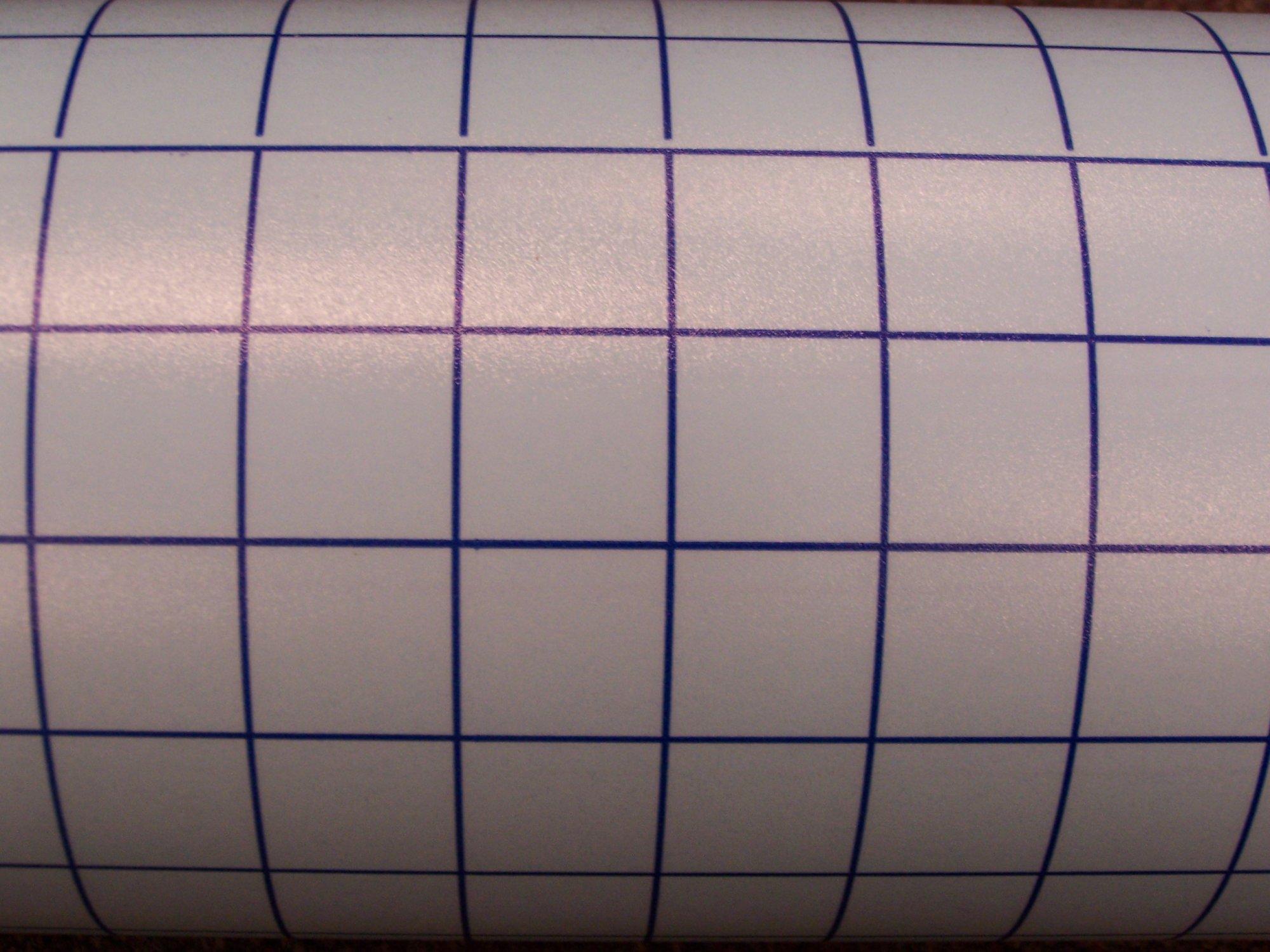 transfer tape (blue grid) 12X24