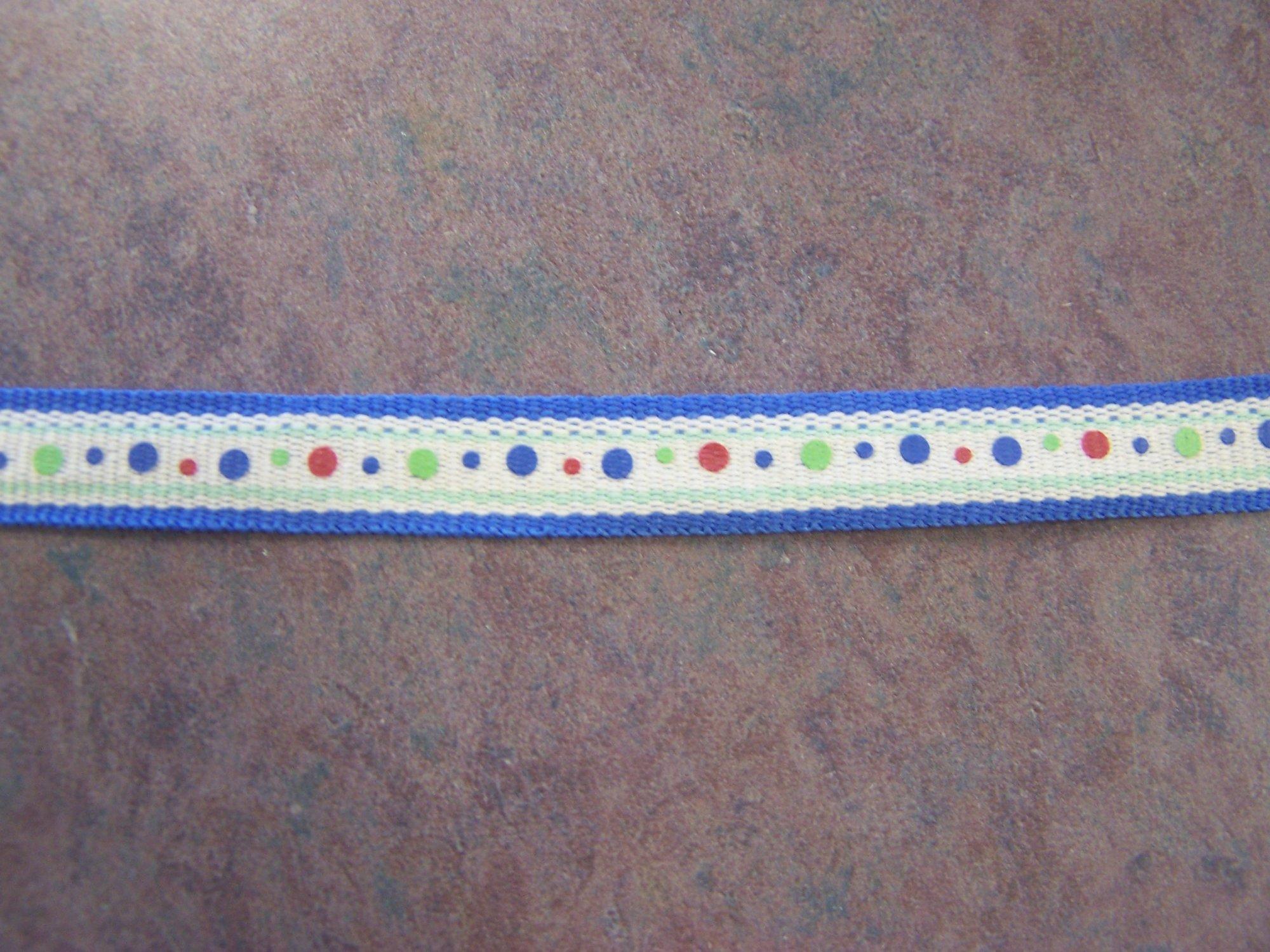 Summer Dots Ribbon- Adorn it