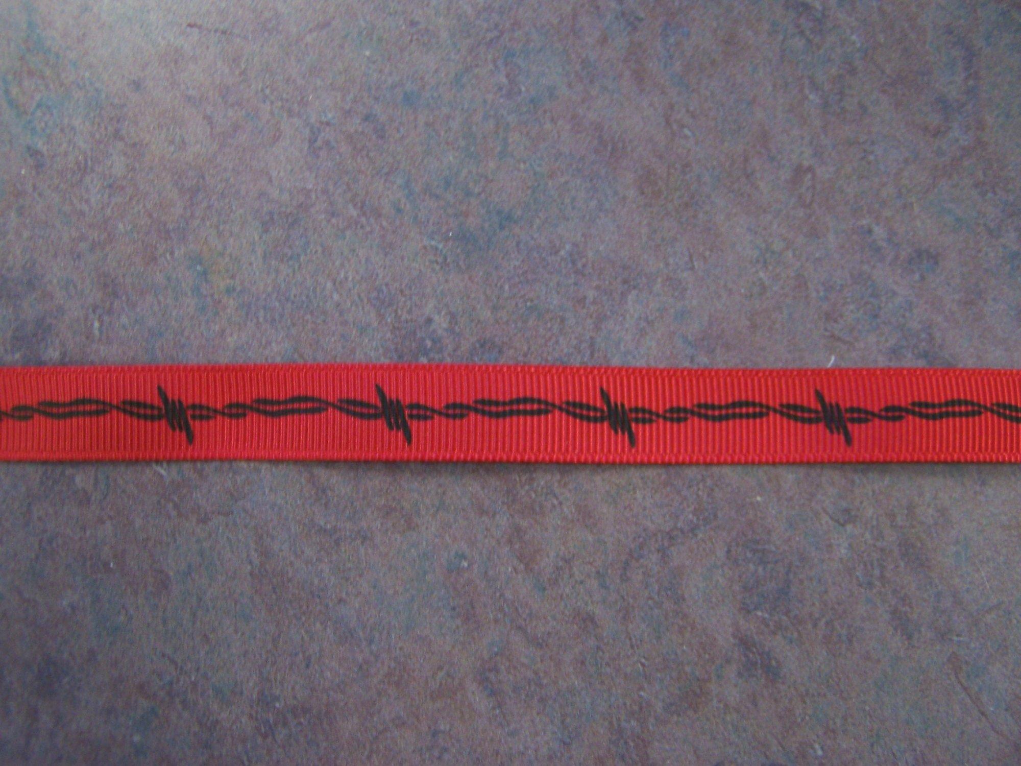 Barb Wire Ribbon- Adorn it