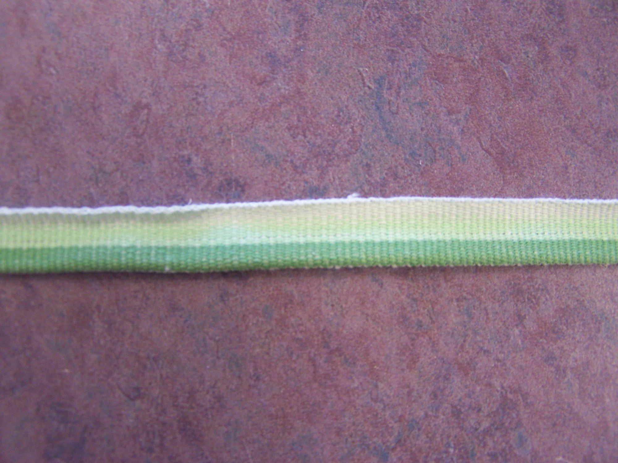 Lazy Lime Woven Ribbon- Adorn it