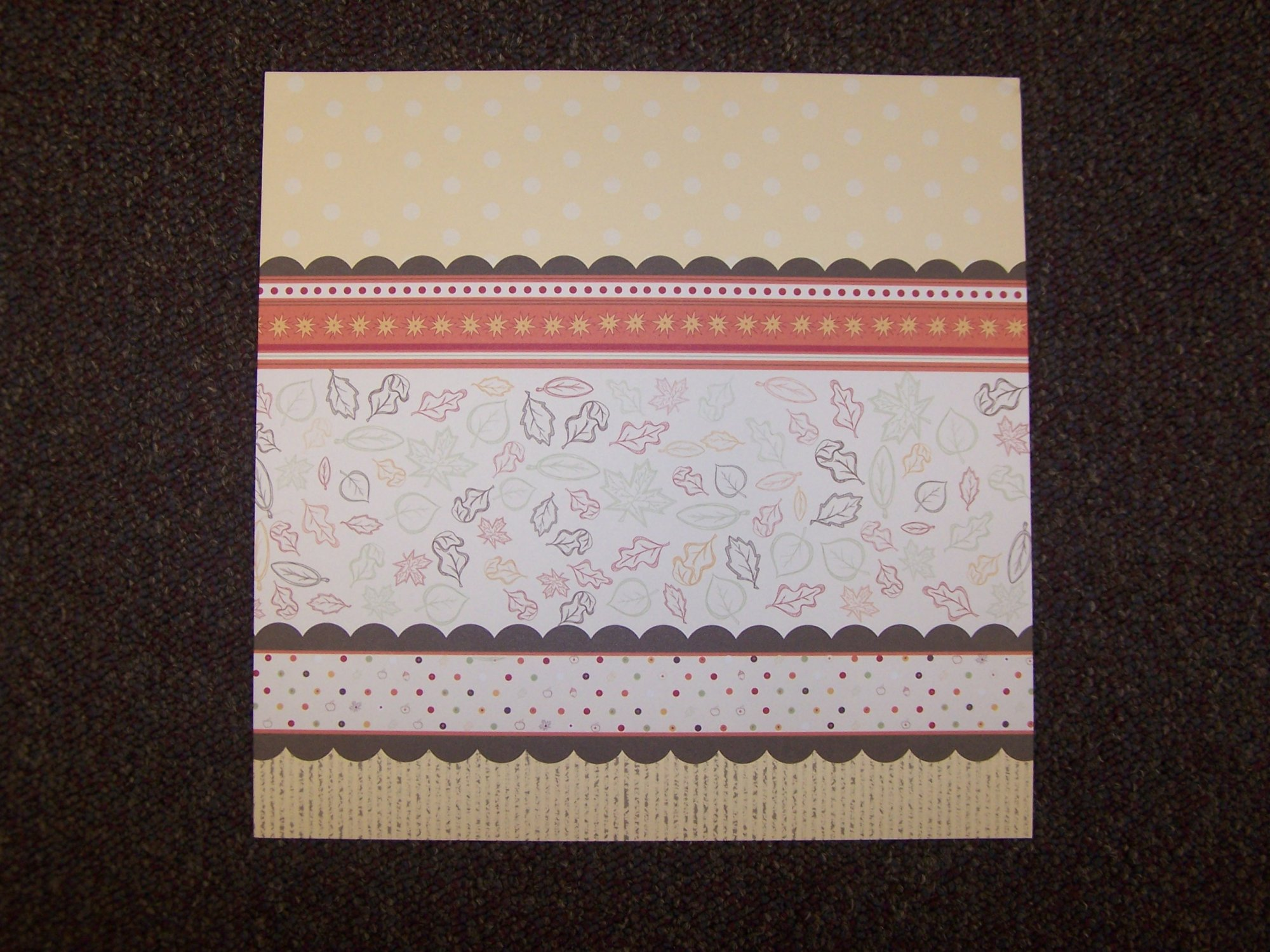 Autumn Breeze - Fall Collection 12X12 Adorn It Paper