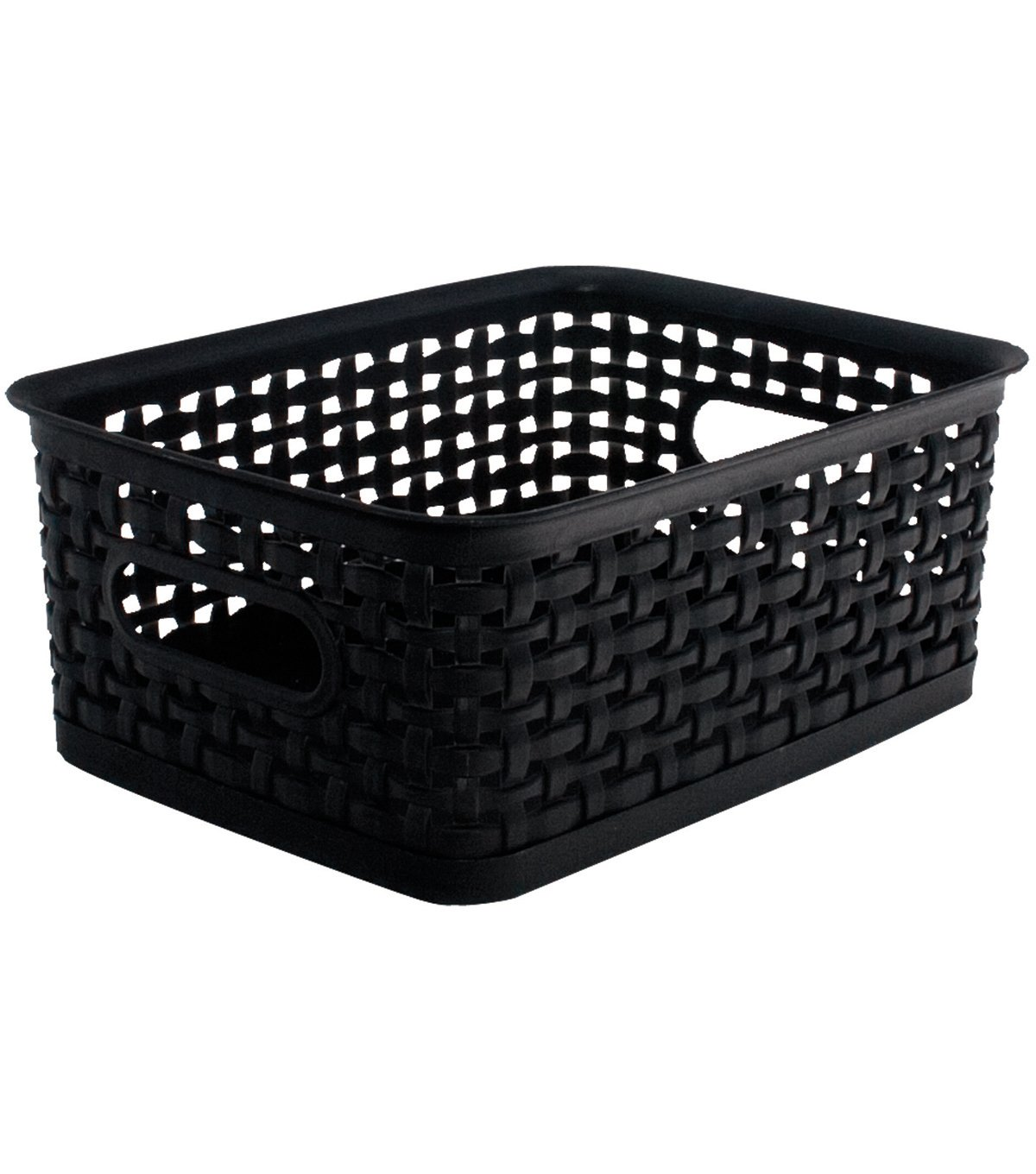 Advantus Weave Design Plastic Bin Small