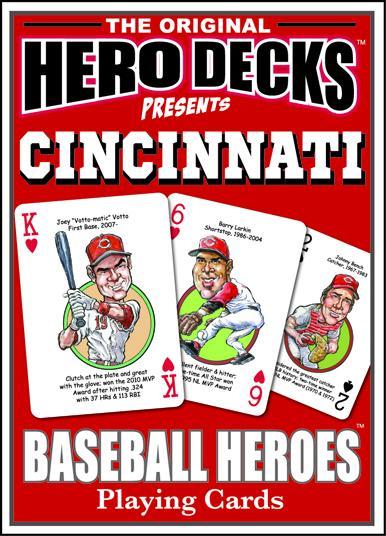 Cincinnati Baseball Heroes Cards