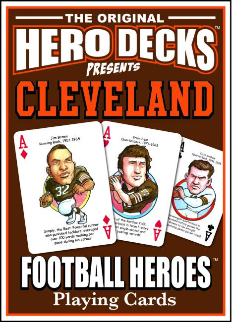 Cleveland Football Heroes Cards