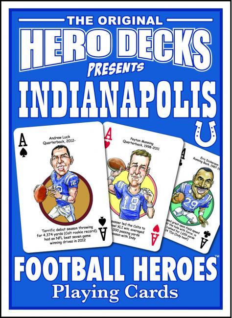 Indianapolis Colts Football Heroes Cards