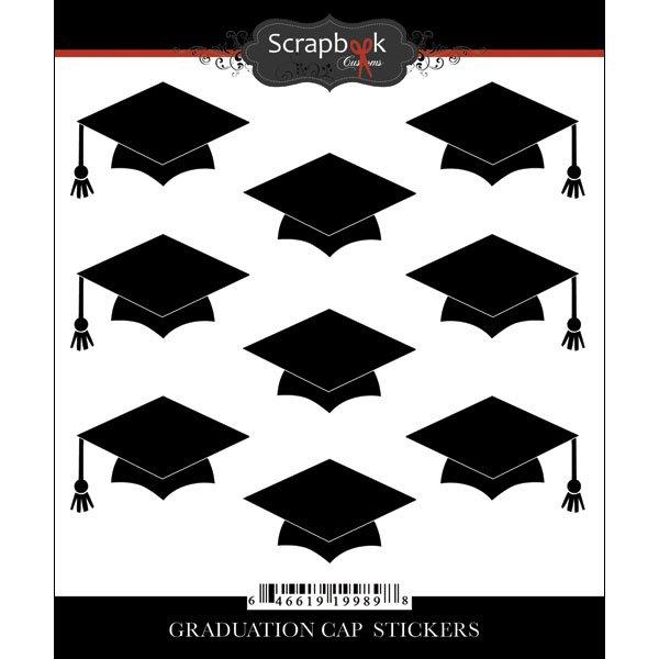 Graduation Cap Sticker-
