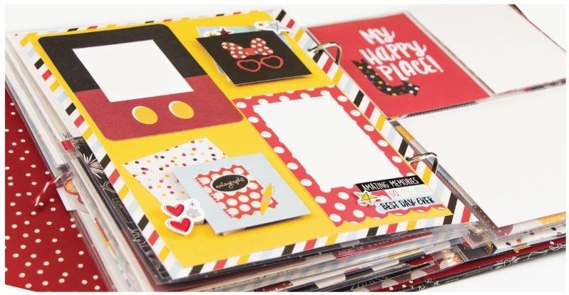 Say Cheese 6x8 Mini Album Kit
