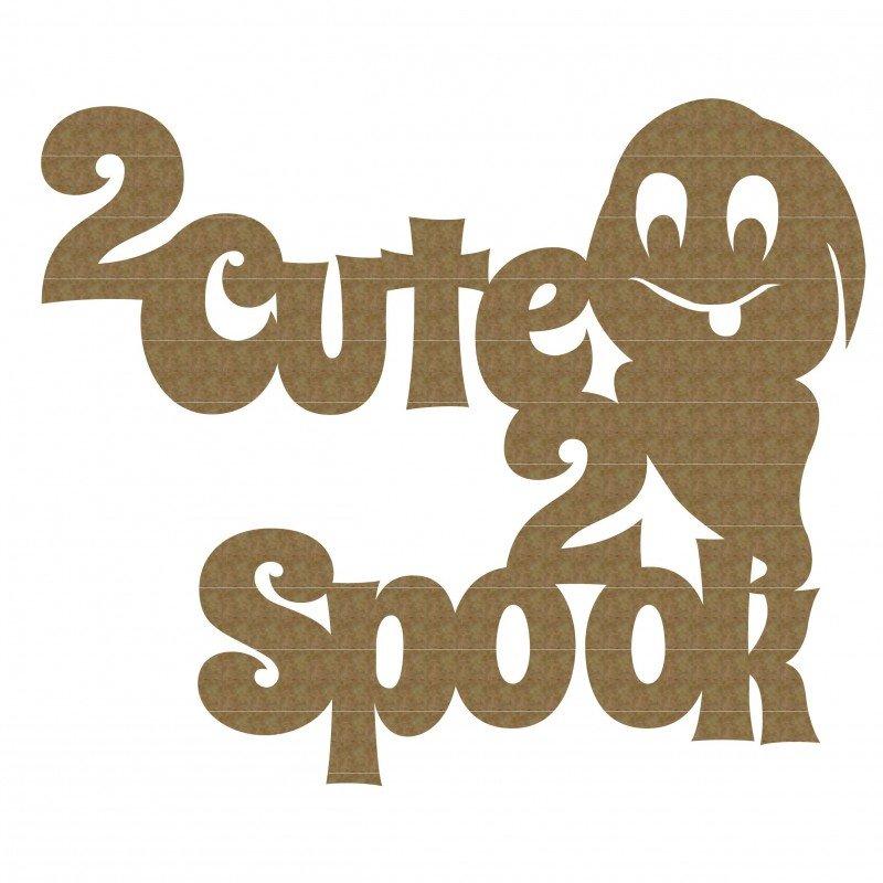 CE Chipboard- 2 Cute 2 Spook