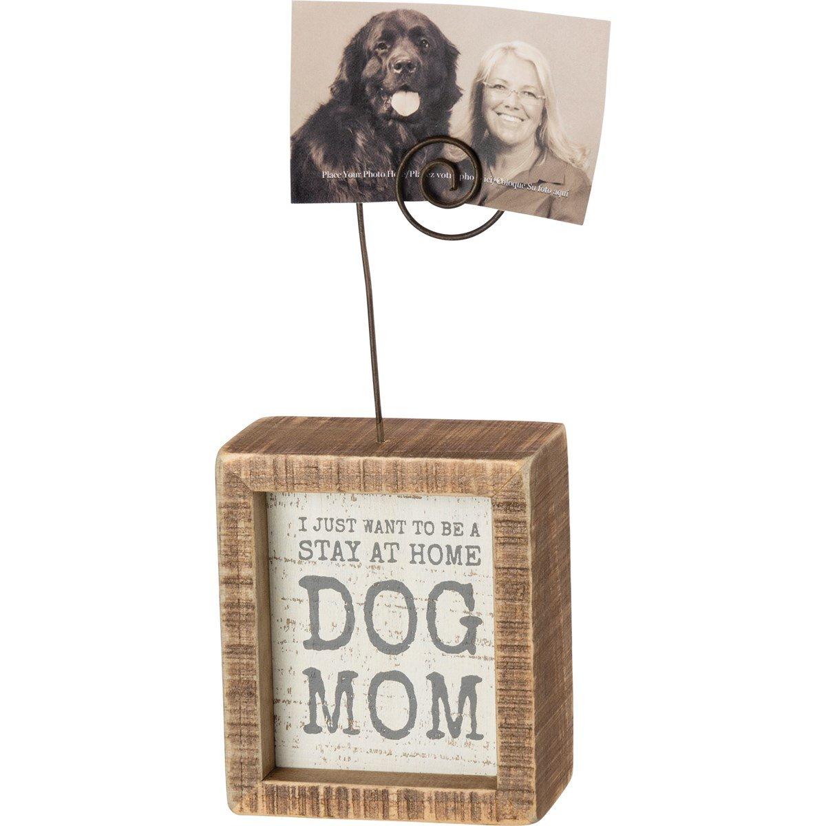 Dog Mom Insert Photo Block